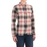 Woolrich Checkerberry Flannel Shirt - Long Sleeve (For Women)