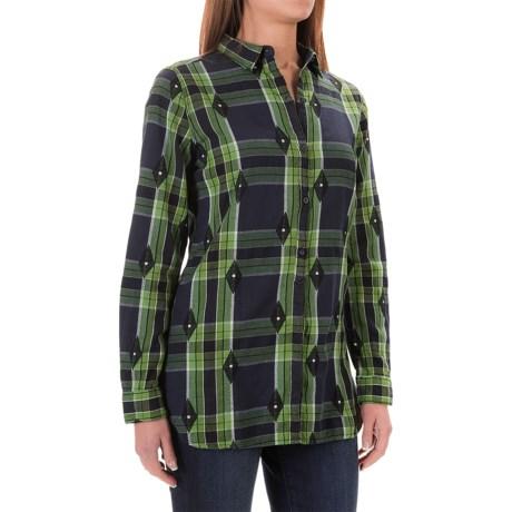 Woolrich First Light Jacquard Shirt - Long Sleeve (For Women)