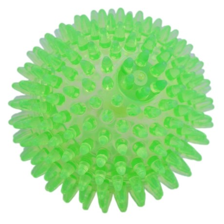 "Best Pet TPR 3.5"" Spiny Squeaker Ball Toy"
