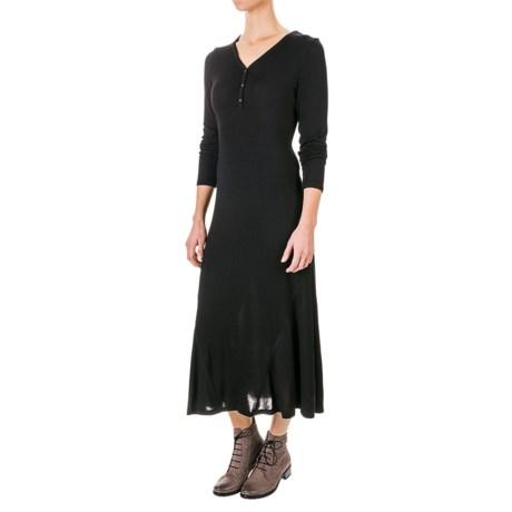 G.H. Bass & Co. Soft Streak Maxi Dress - Long Sleeve (For Women)