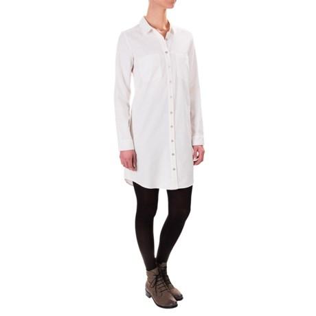G.H. Bass & Co. Lightweight Corduroy Dress - Button Front, Long Sleeve (For Women)