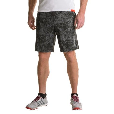 RBX Solid/Printed Interlock Shorts (For Men)
