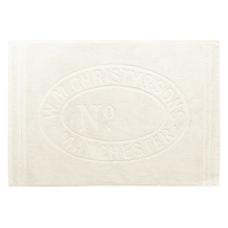 Christy of England Christy Heritage Sculpted Bath Mat - 24x35""