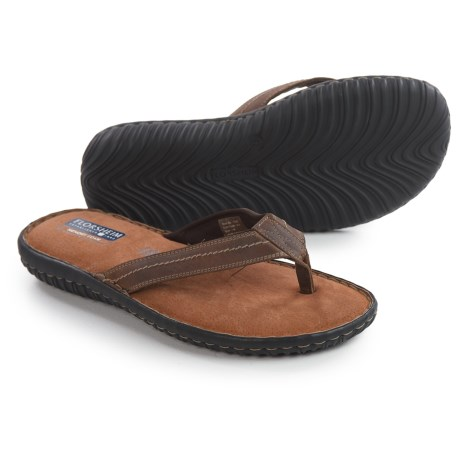 Florsheim Coastal Flip-Flops - Leather (For Men)