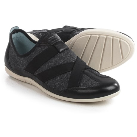 ECCO Bluma Sneakers - Slip-Ons, Leather (For Women)