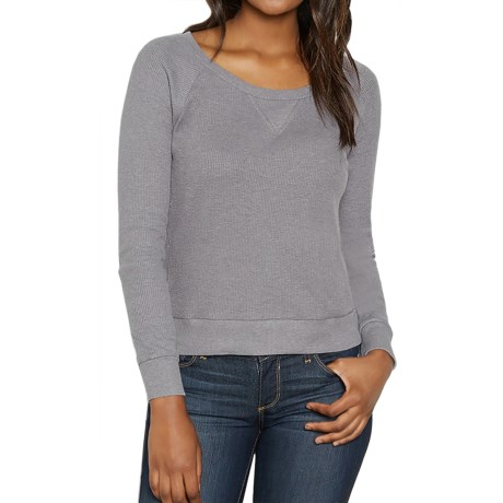 Threads 4 Thought Breck Waffle Shirt - Organic Cotton, Long Sleeve (For Women)
