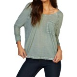 Threads 4 Thought Novia Shirt - Scoop Neck, 3/4 Sleeve (For Women)