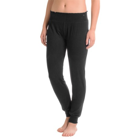 Tahari Smocked-Waist Joggers - Rayon (For Women)