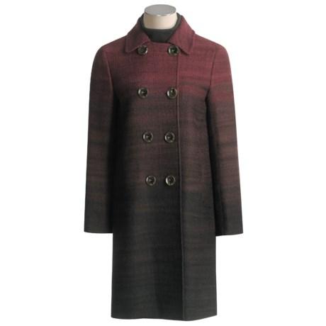 Lafayette 148 New York Aston Coat - Wool Ombre (For Women)