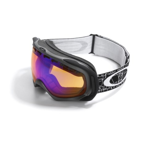 Oakley Crowbar Ski Goggles - Spherical Flash Lens