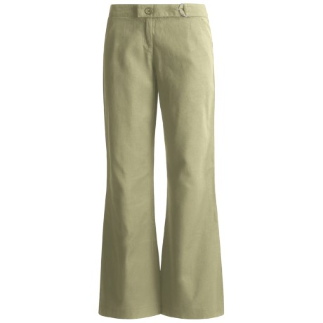 Linen Chino Pants (For Women)