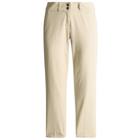 ExOfficio Tomboy Twill Crop Pants (For Women)
