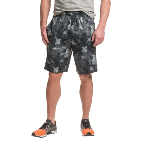 Layer 8 Printed Training Shorts (For Men)