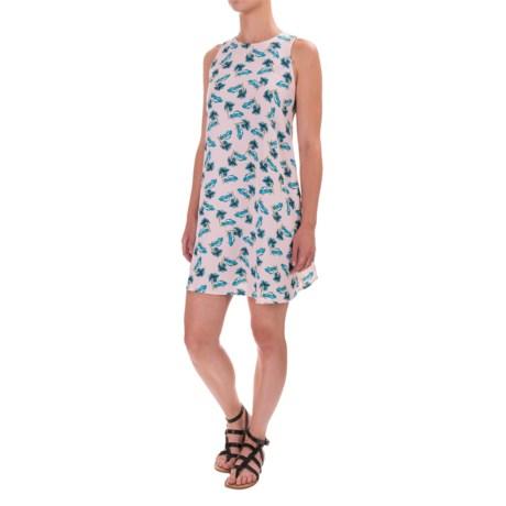 Lucy & Laurel Halter Swing Dress - Sleeveless (For Women)