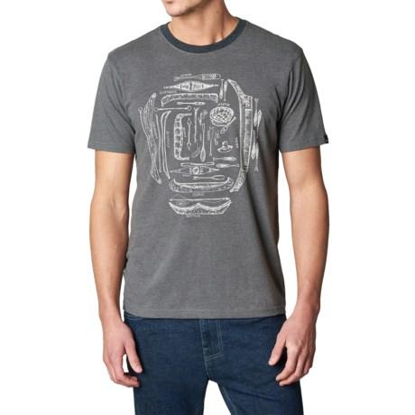 prAna Canoe'N Ringer T-Shirt - Organic Cotton, Short Sleeve (For Men)