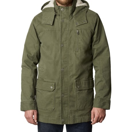 prAna Organic Cotton Canvas Parka (For Men)
