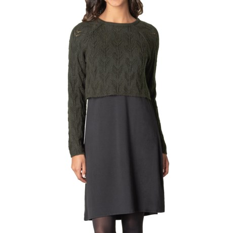prAna Everly Dress and Sweater - Two-Piece Set (For Women)
