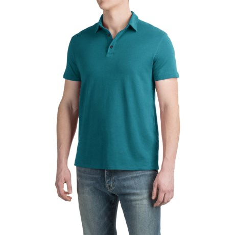 Specially made Buttoned Polo Shirt - Short Sleeve (For Men)