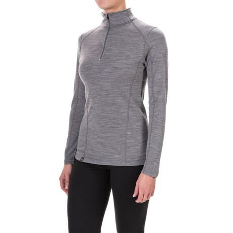 Ibex Woolies 2 Base Layer Top - Merino Wool, Zip Neck, Long Sleeve (For Women)