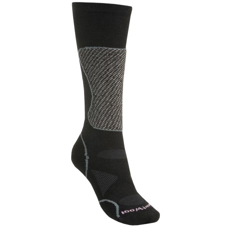 SmartWool PhD Mid Cushion Ski Socks - Lightweight, Merino Wool (For Women)