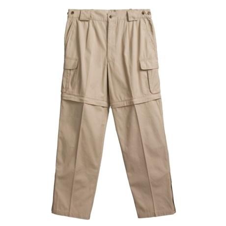Cotton Convertible Zip-Off Pants  (For Men)