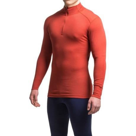 Ibex Woolies 1 Base Layer Top - Merino Wool, Zip Neck, Long Sleeve (For Men)