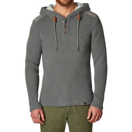 prAna Hooded Henley Sweater (For Men)