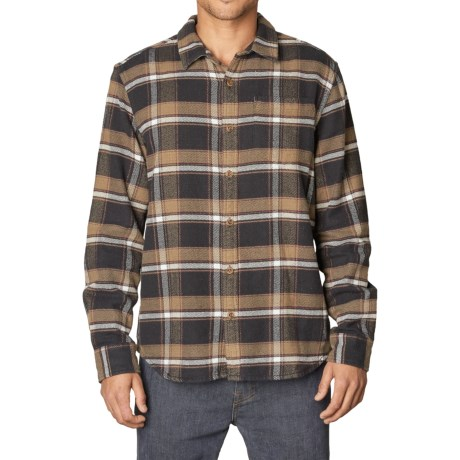 prAna Channing Flannel Shirt - Organic Cotton, Long Sleeve (For Men)