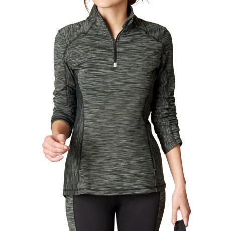 prAna Sierra Fleece Shirt - Zip Neck, Long Sleeve  (For Women)