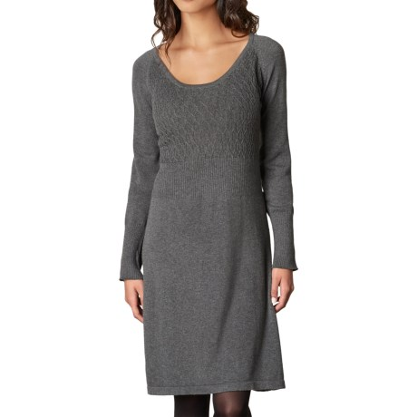 prAna Zora Dress - Organic Cotton, Long Sleeve (For Women)