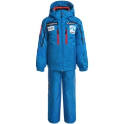 Phenix Norway Alpine Team Ski Jacket and Pants Set - Waterproof, Insulated, Blue (For Little and Big Boys)