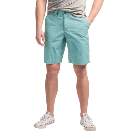 True Grit Vintage-Washed Chino Shorts (For Men)