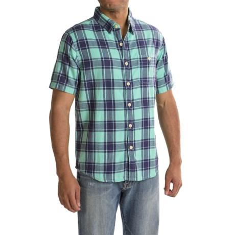 True Grit Bahama Plaid Shirt - Short Sleeve (For Men)