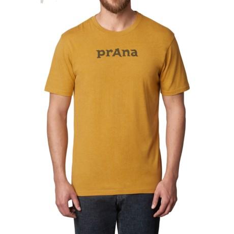 prAna Logo T-Shirt - Organic Cotton, Short Sleeve (For Men)