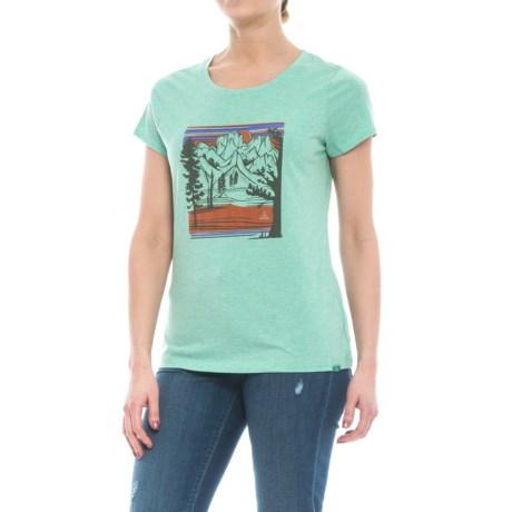 prAna Climbing T-Shirt - Organic Cotton Blend, Short Sleeve (For Women)
