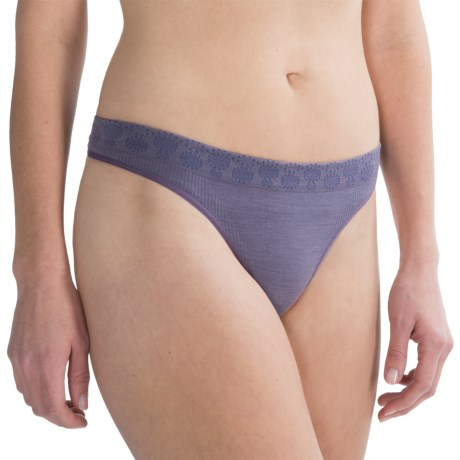 SmartWool PhD Seamless Panties - Merino Wool, Thong (For Women)