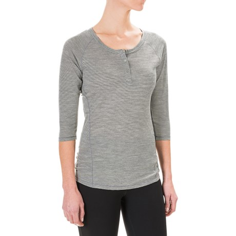 SmartWool NTS 150 Henley Shirt - Merino Wool, 3/4 Sleeve (For Women)