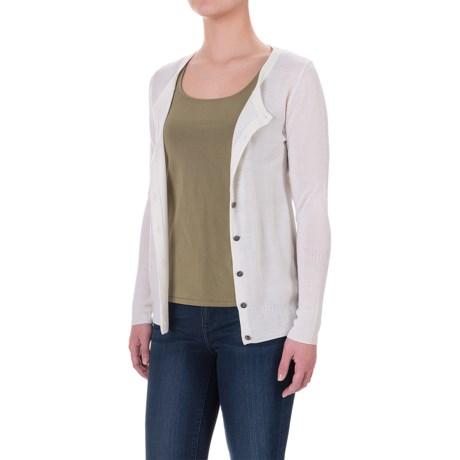 Ibex Harmony Cardigan Sweater - Merino Wool (For Women)