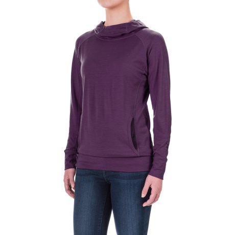 Ibex Indie Hera Hoodie - Merino Wool (For Women)