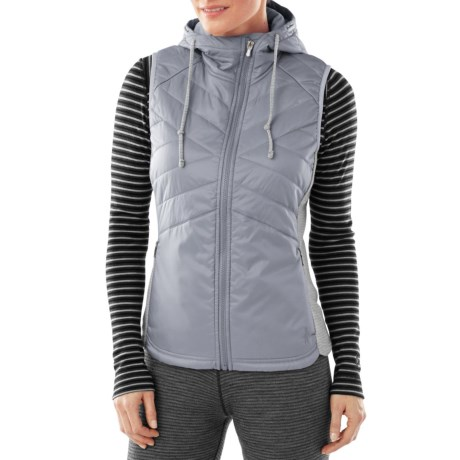 SmartWool Double Propulsion 60 Hooded Vest - Insulated (For Women)