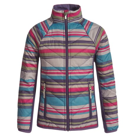 SmartWool Printed Double Corbet 120 Jacket - Merino Wool, Insulated (For Girls)