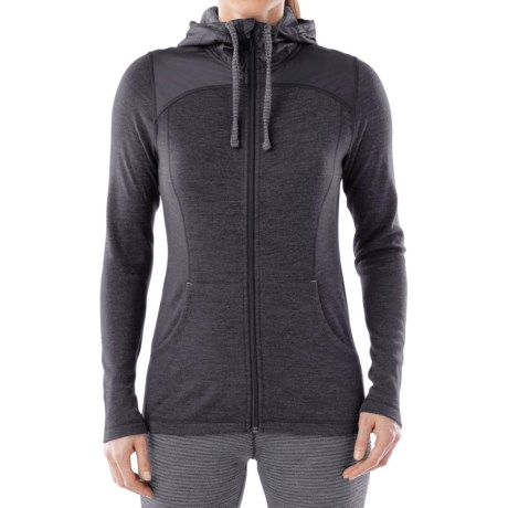 SmartWool NTS 250 Midweight Sport Hoodie - Merino Wool, Full Zip (For Women)