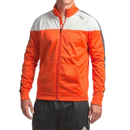 Brooks Rally Running Jacket (For Men) in Desert/White - Closeouts
