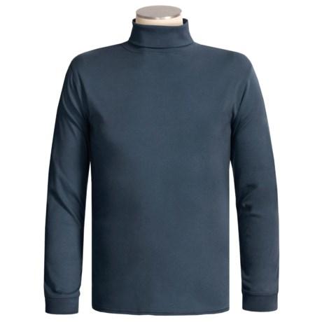Kombi Combed Cotton Turtleneck - Long Sleeve (For Tall Men)
