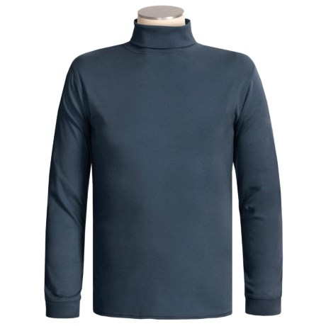 Kombi Combed Cotton Turtleneck - Long Sleeve (For Men)