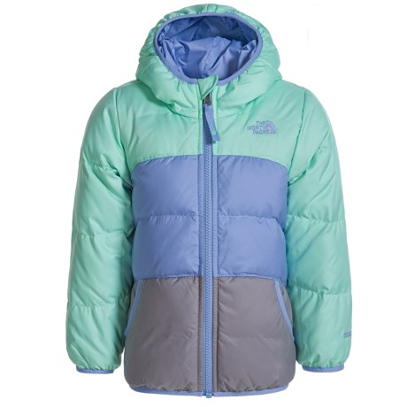 The North Face Reversible Moondoggy Down Jacket - 550 Fill Power (For Toddler Girls)