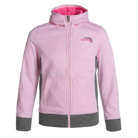 The North Face Surgent Hoodie - UPF 50+, Zip Front (For Little and Big Girls)