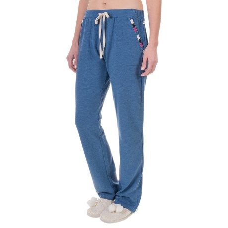 Lucky Sleepwear Embroidered Lounge Pants (For Women)