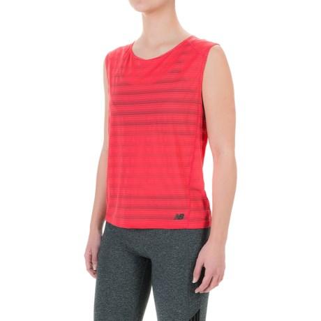 New Balance Newbury Fashion Layer T-Shirt - Sleeveless (For Women)