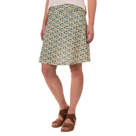 White Sierra Pariscope Skirt (For Women)